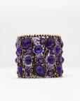 Cuff Bracelet Purple