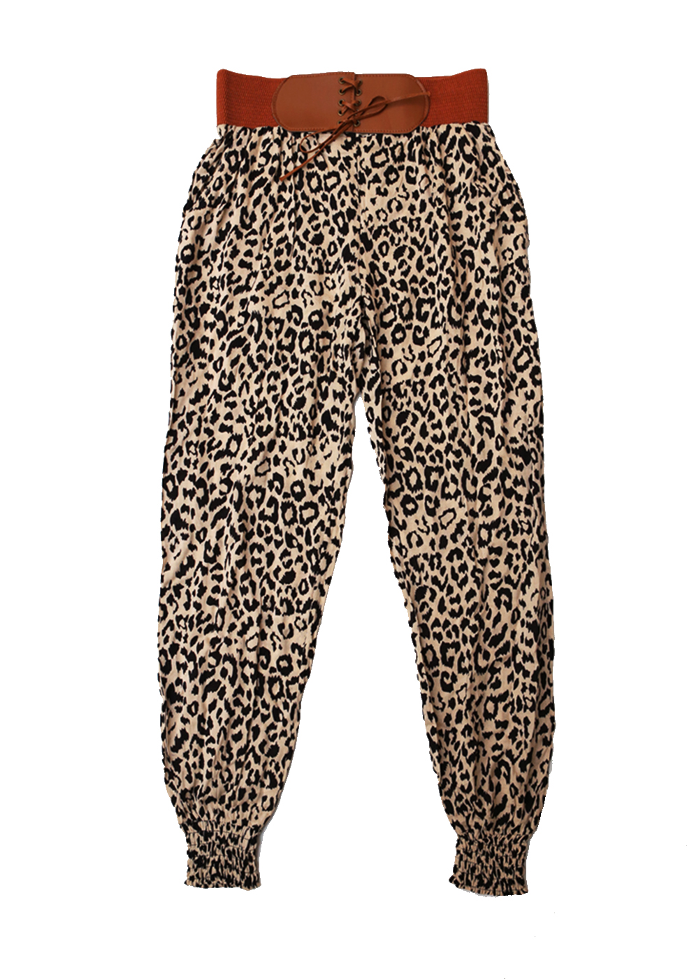 how to wear leopard print pants