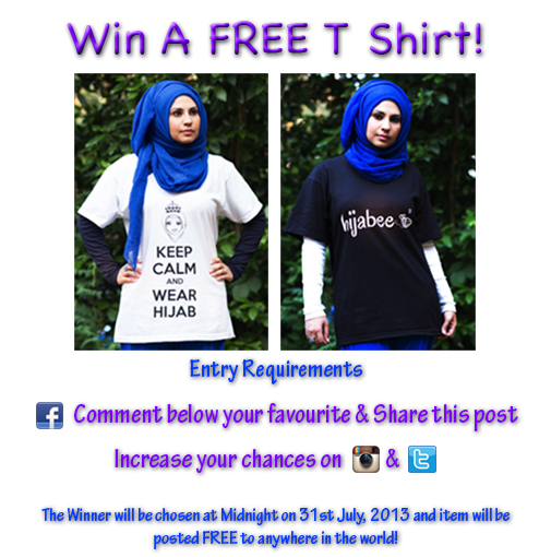 Keep Calm and Wear Hijab T Shirt