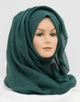 A must have as part of your wardrobe, Green maxi hijab