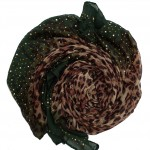 leopard ombre hijab