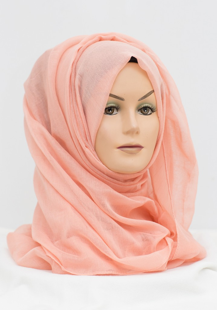 Oh so Peach maxi hijab