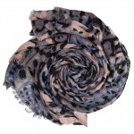 baby pink and blue leopard print hijab