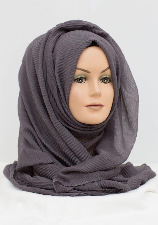 Charcoal grey Maxi Hijab