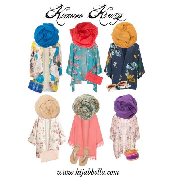 Kimono Hijab Fashion Styles