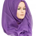 cadbury purple plain maxi hijab