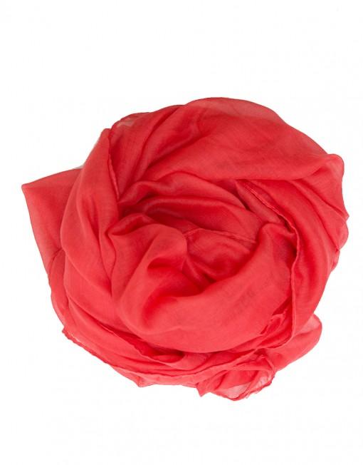 coral maxi hijab