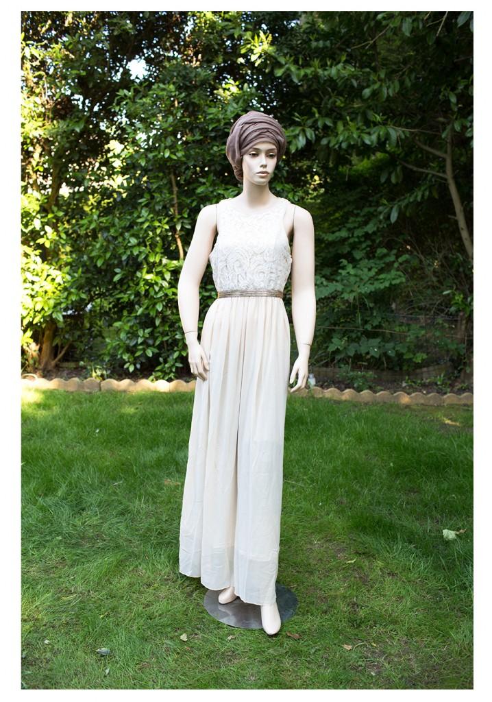 gold shimmer dress