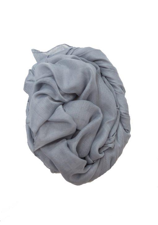 grey maxi hijab
