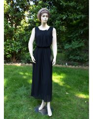 black jewel maxi dress