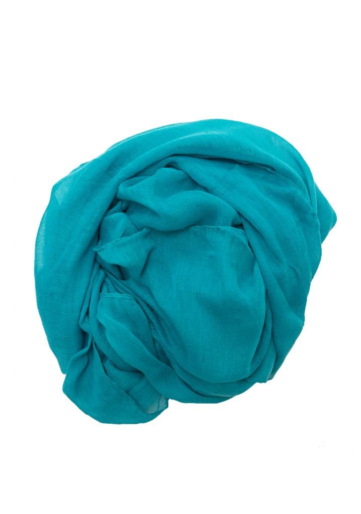 turquoise maxi hijab