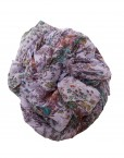 purple floral maxi hijab