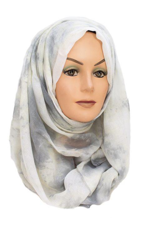 Marble Grey Hijab