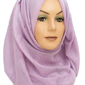 Purple and Lilac Sparkle maxi hijab