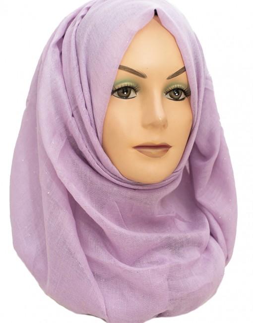 Purple and Lilac Sparkle maxi hijab