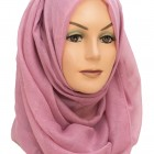 light purple maxi hijab sparkle