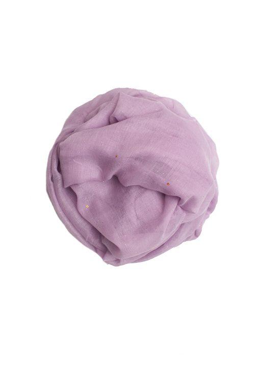 Purple sparkle hijab