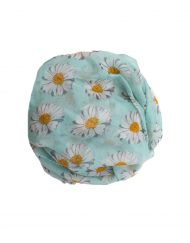 Green and Yellow sunflower hijab