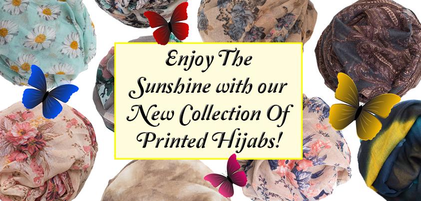 printed summer maxi hijabs