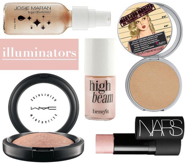 highlight make up tips