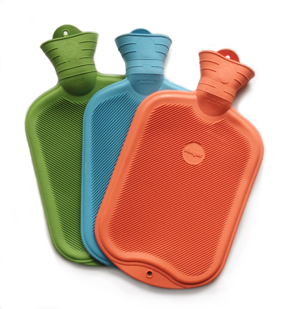 period pain needs hot water bottle