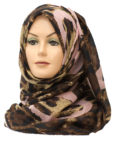 baby pink hearts printed hijab