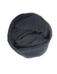 crinkle grey maxi hijab