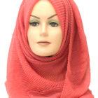 peach crinkle maxi hijab