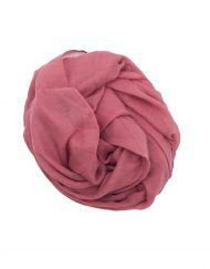 plain pink maxi hijab