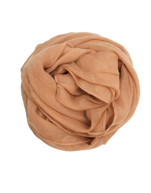 plain beige maxi hijab